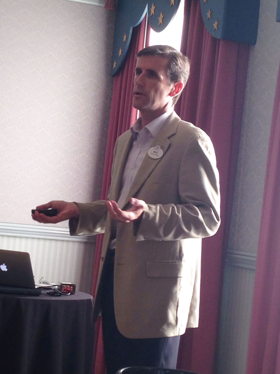 Disney director of alliance development Mike Benn says Walt Disney was an avid con-servationist.
