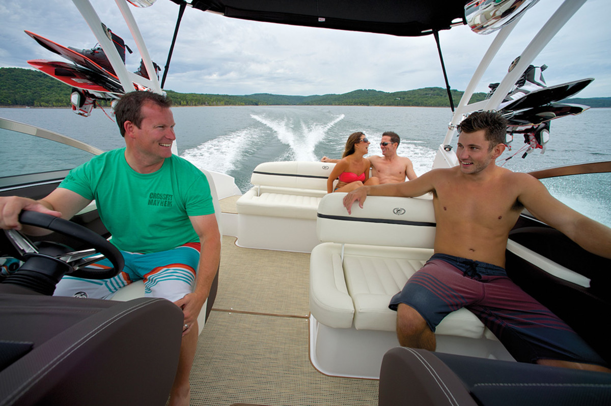 It is imperative to get young people exposed to boating, even if they won't become immediate buyers.