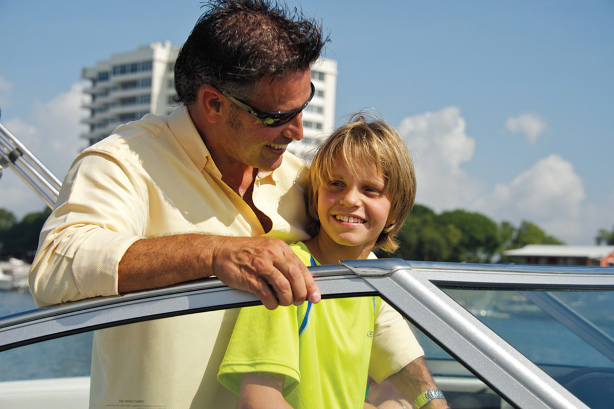 The hope is that more adult boaters will pass their passion for the water on to their kids at a very early age.