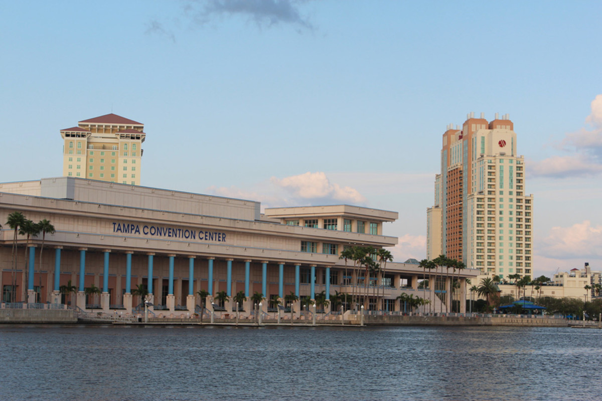 Easy access to the water was one reason IBEX organizers selected the Tampa (Fla.) Convention Center.