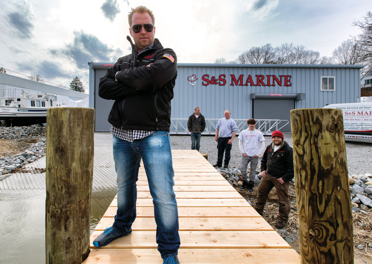 Scott Sundholm launched the service company S&S Marine and is focused on growing his business.