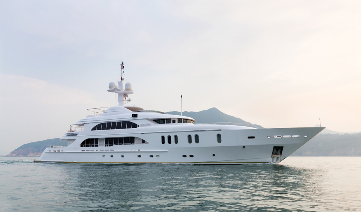 Fraser Yachts will bring the 165-foot Sensation and other yachts to the Singapore Yacht Show.
