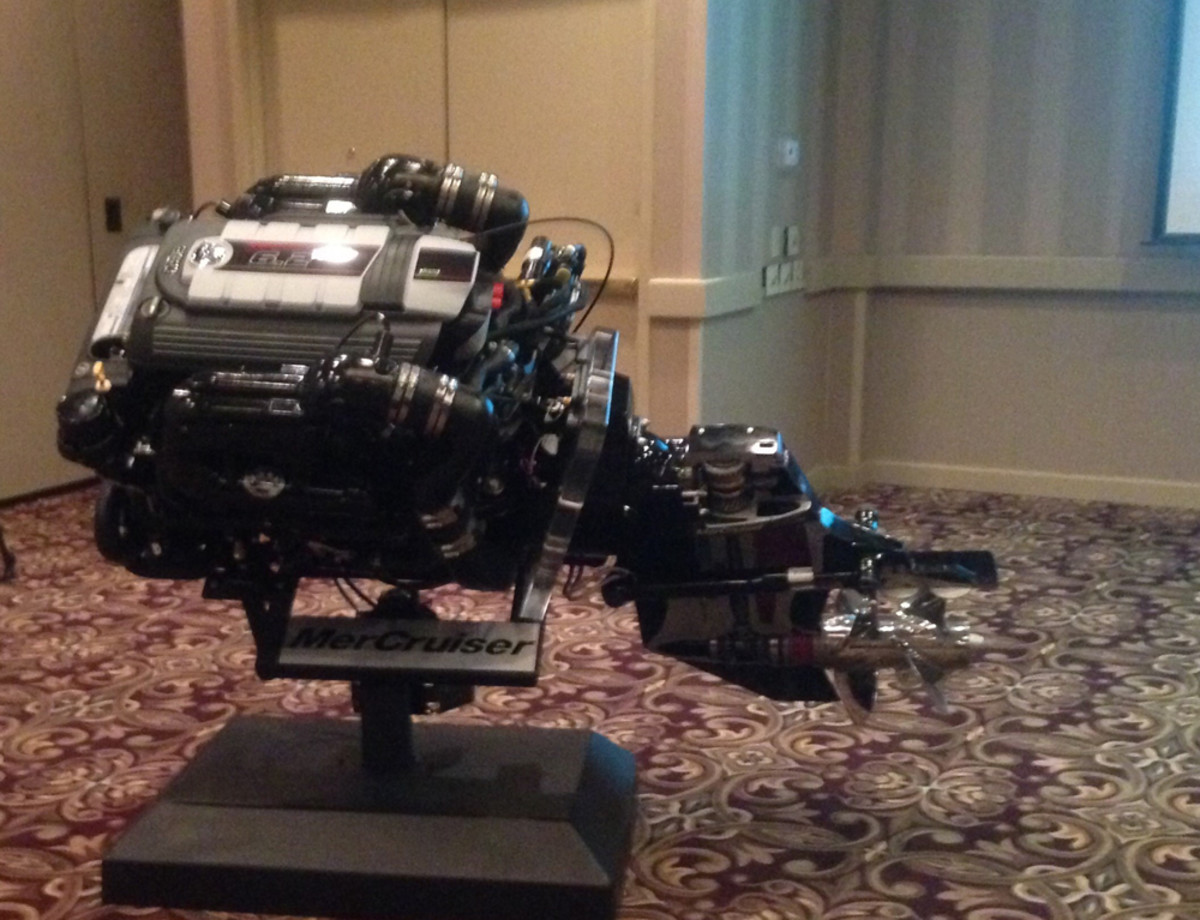 The MerCruiser 6.2L V8 is Mercury's second in-house-built sterndrive engine.
