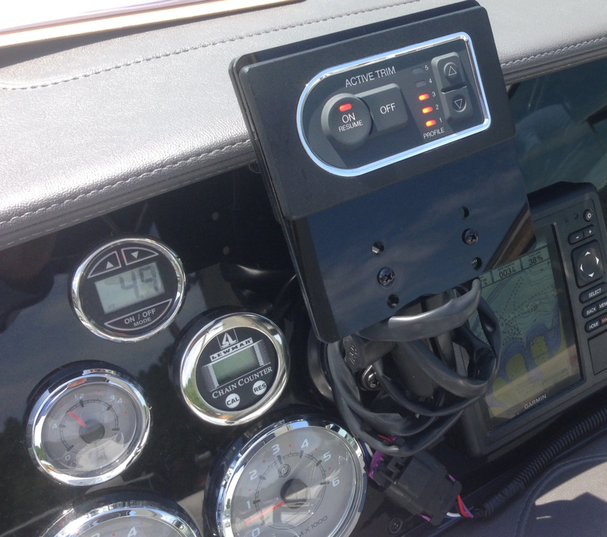 Mercury Marine's new Active Trim Control system will hit the market in February.