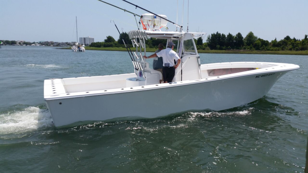 Capt. Rick Croson, who recently made the shift from outboard power on his charter fishing vessel to diesel sterndrive power, says the new propulsion saves gas, is quieter and helps his customers catch more fish.