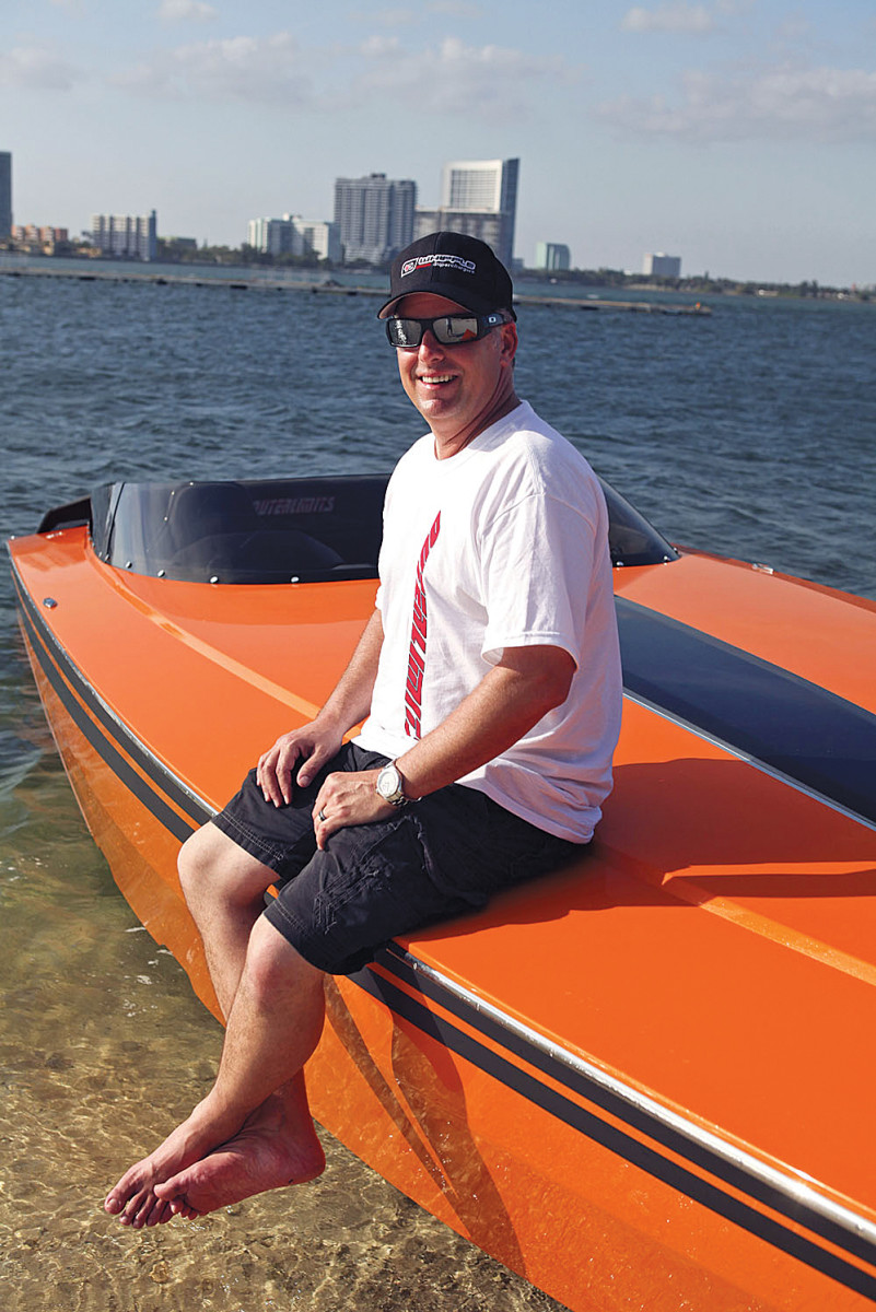 Mike Fiore leaves behind a legacy of building quality, highly technical performance boats.