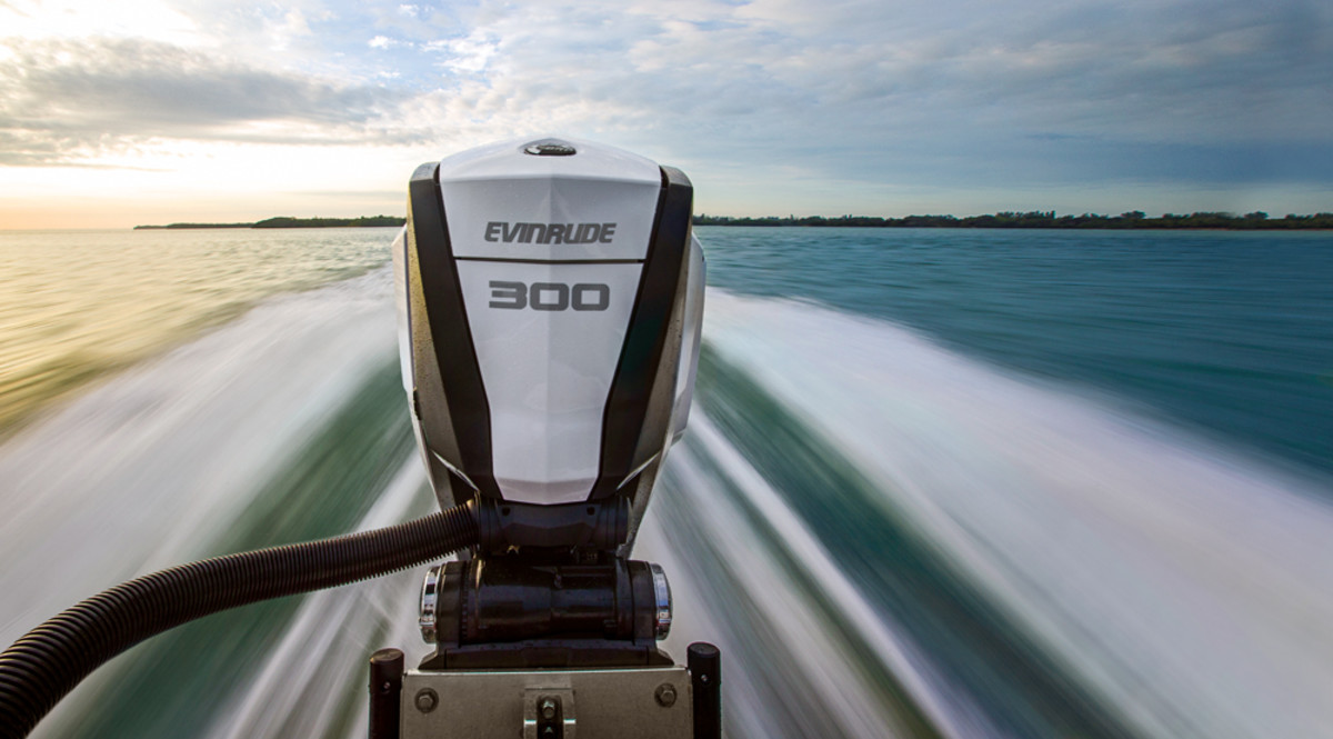 The second-generation Evinrude E-TEC G2 is making its public debut at the show and its bold design is expected to turn heads.