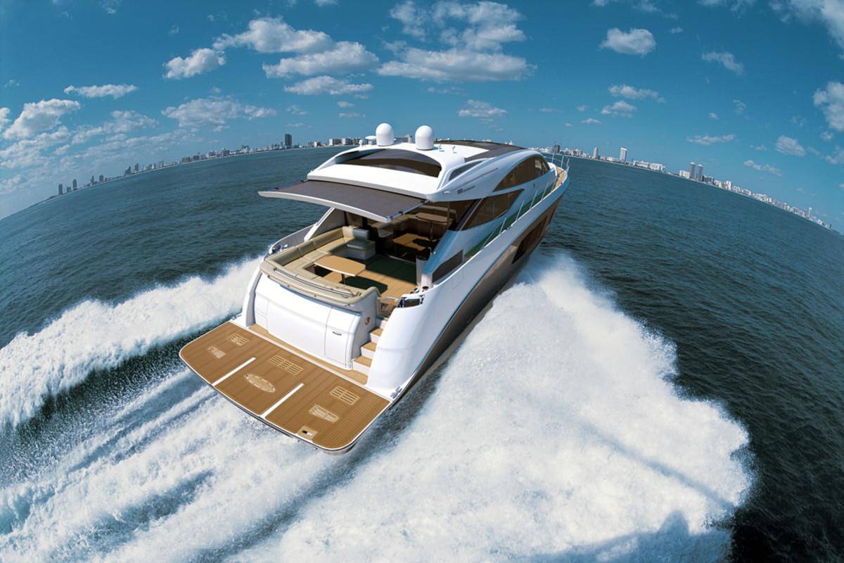 Sea Ray's 350 SLX.
