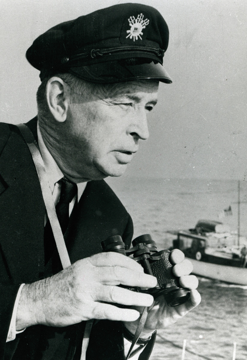 """A co-founder of the USPS was the famed Charles F. Chapman, whose """"Chapman Piloting & Seamanship"""" remains a standard boating reference."""