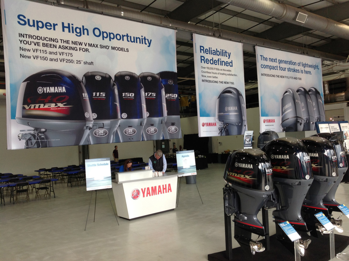 Yamaha opened up its test center to journalists in Bridgeport, Ala., to introduce its new outboard models that are aimed specifically at the freshwater market.