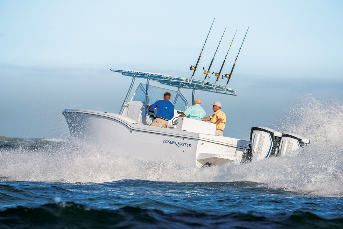 The Evinrude E-TEC G2's debut reaffirmed BRP's commitment to 2-stroke technology.