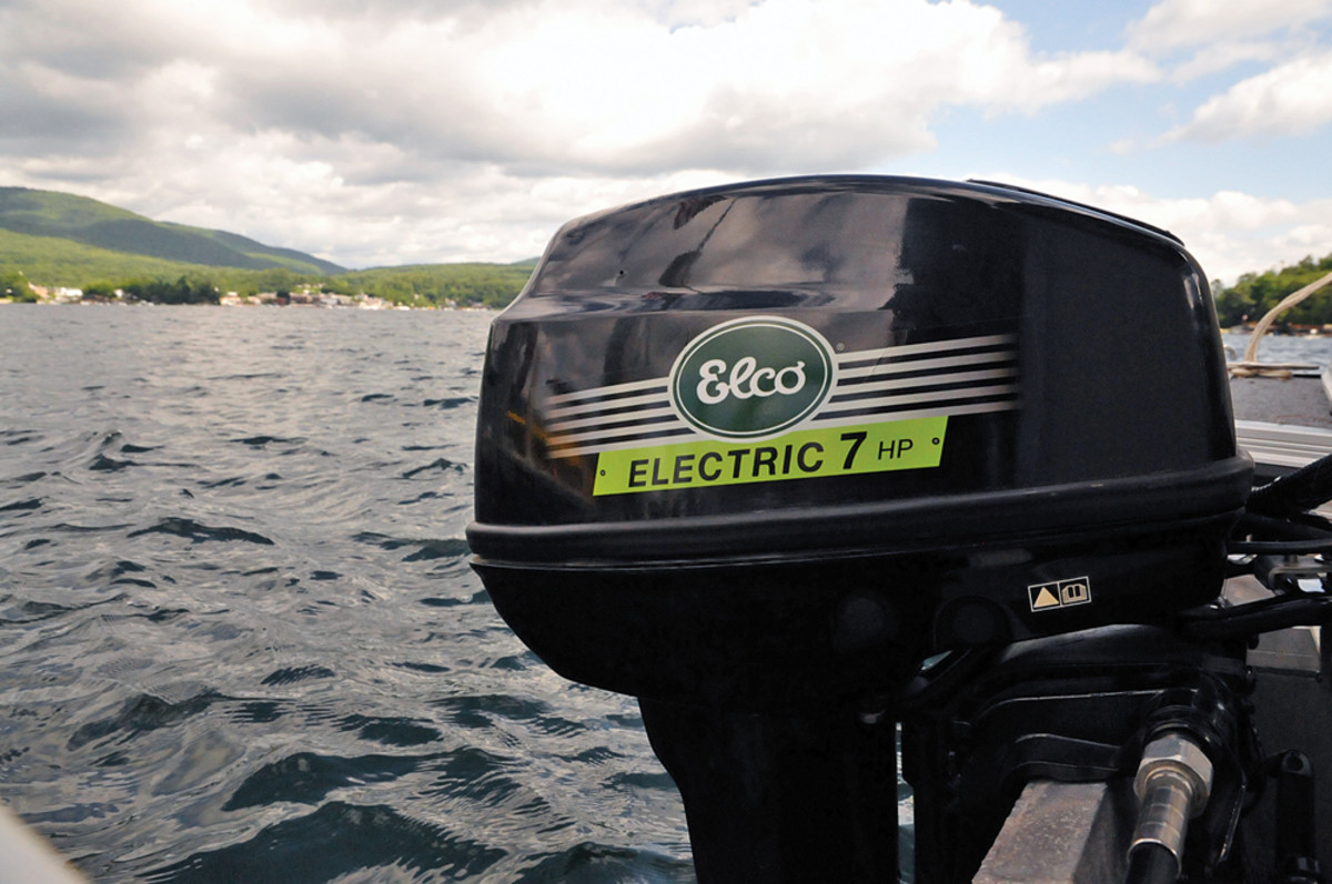 Elco will soon have five electric outboards from 5 to 25 hp on the market.