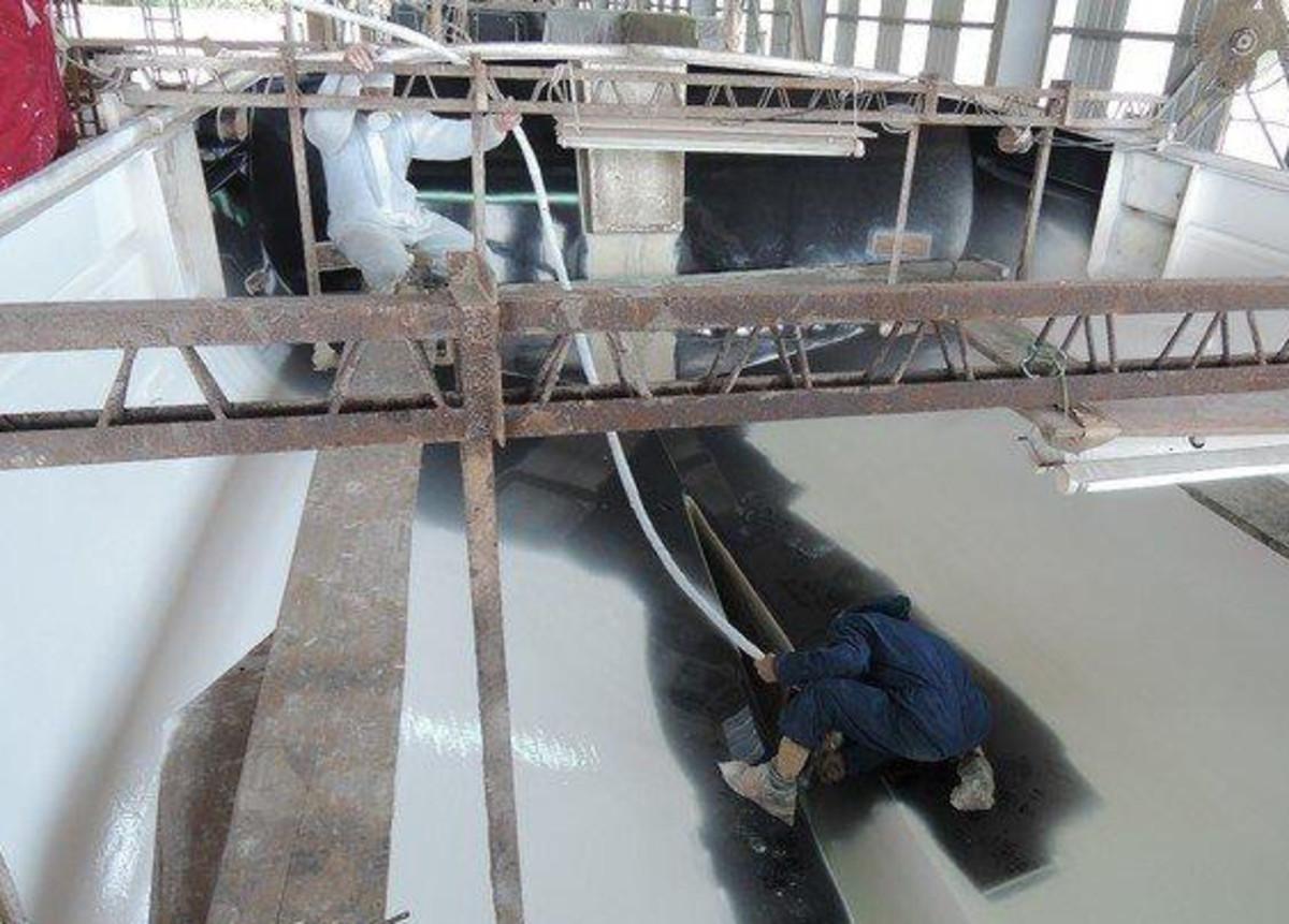 Kadey-Krogen is building a Krogen 44 AE, which will be its 600th new boat.
