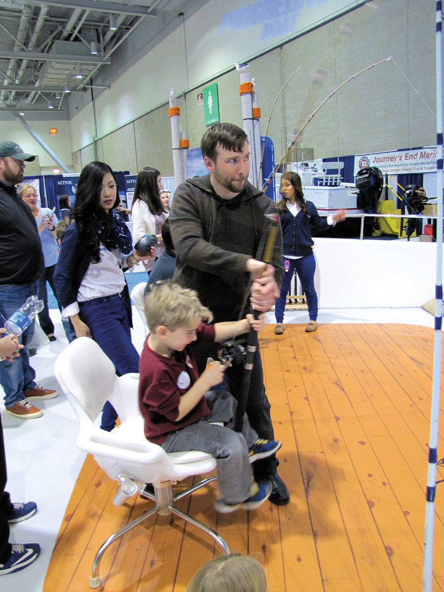 Exhibitors sensed a mood of optimism among visitors at the family-friendly show.