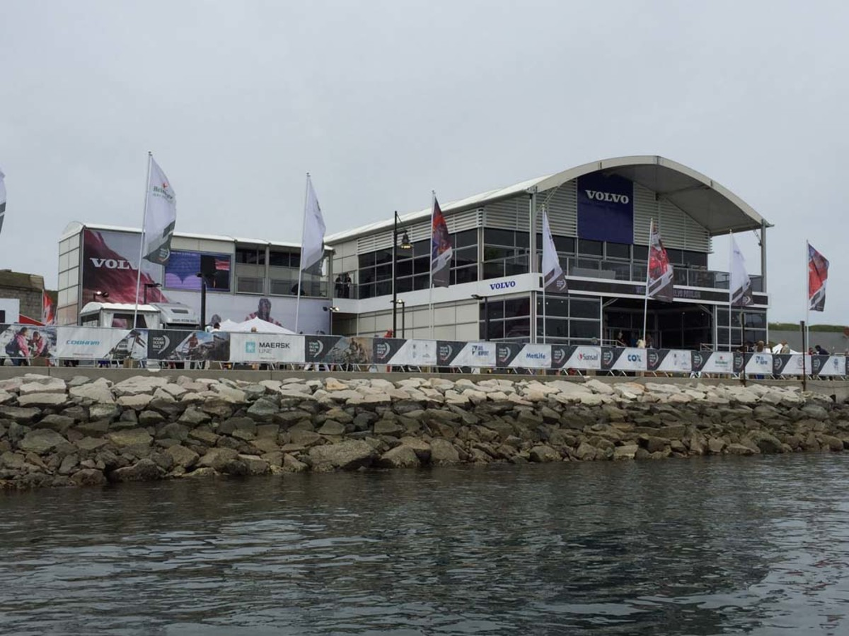 The Race Village is virtually a small city that travels with the race from port to port.