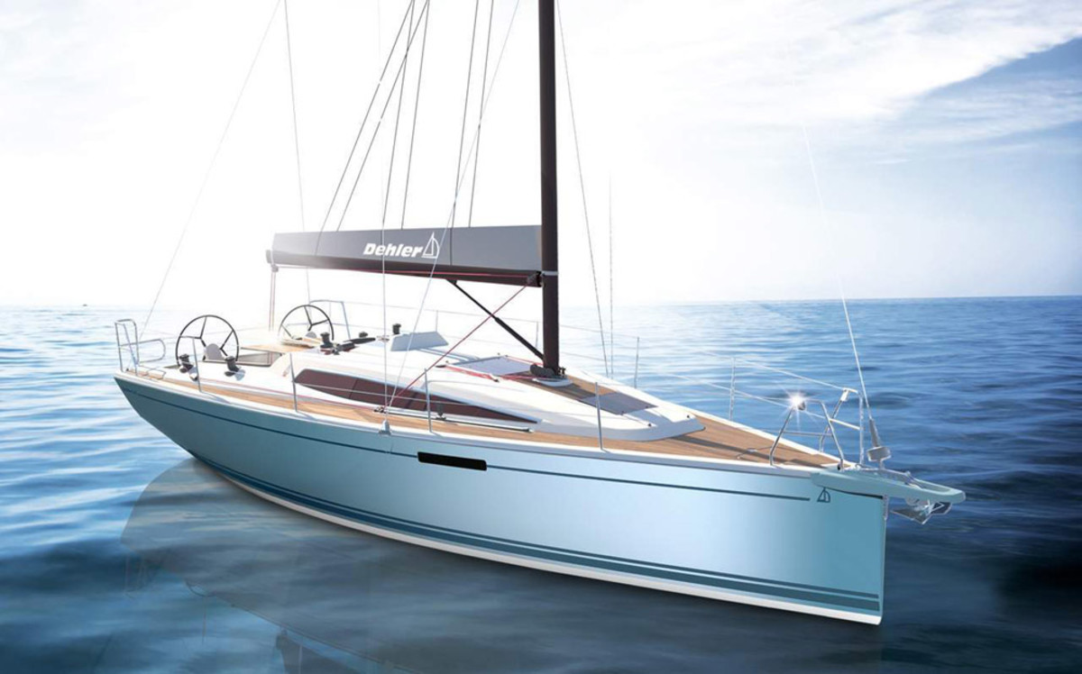 The new Dehler 34.