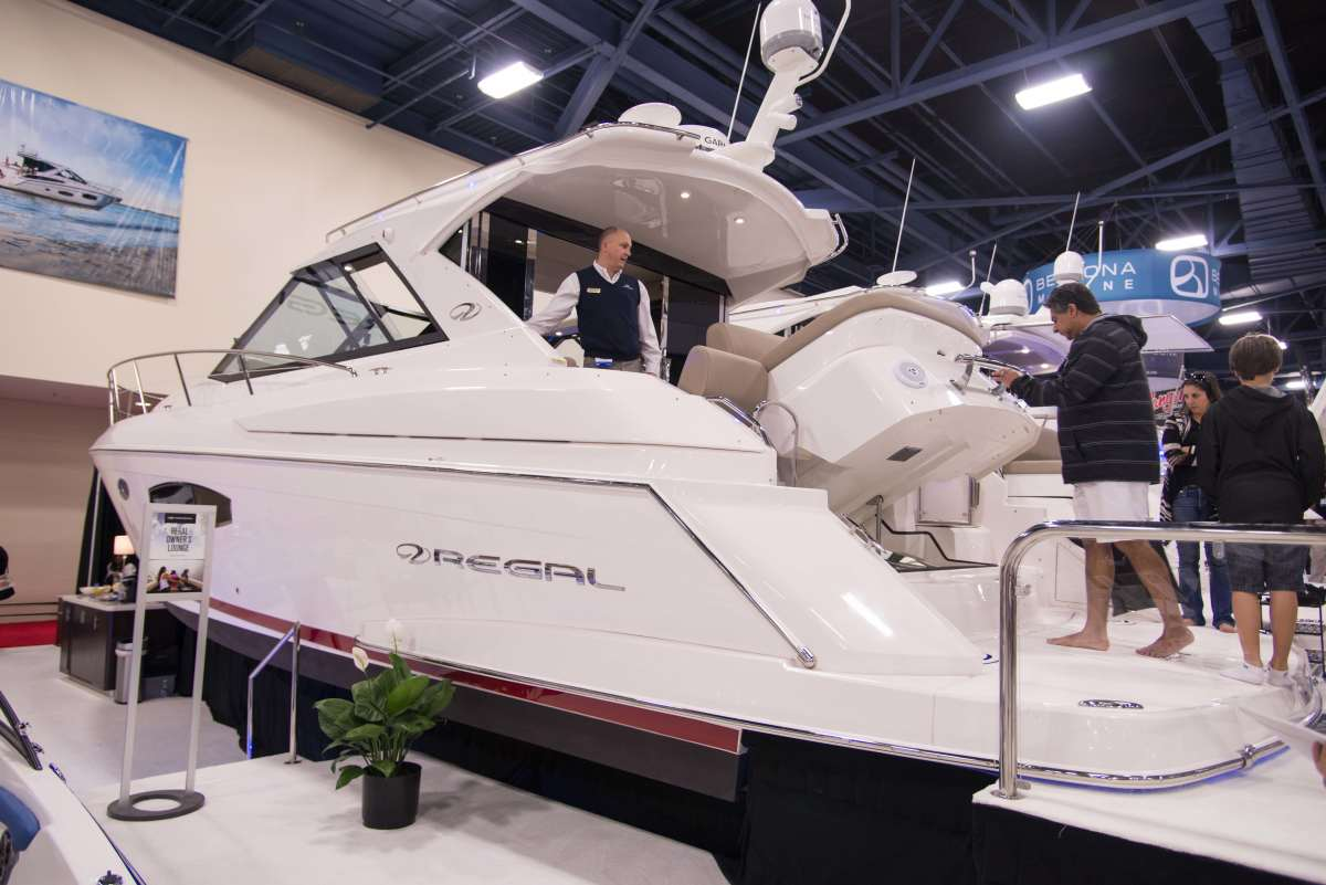 Regal Boats said new models, an attractive display and a top-notch factory and dealer sales team helped the company achieve record sales at the Miami International Boat Show.