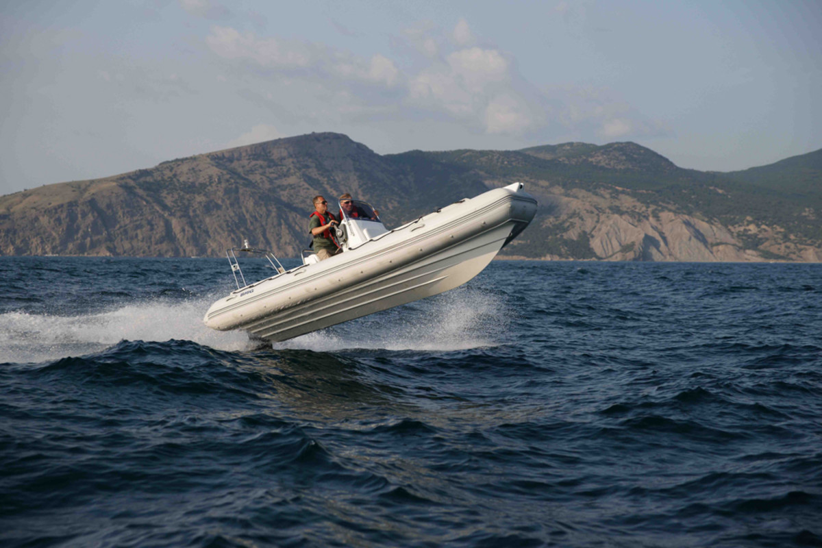Sirocco Marine Annapolis will carry the full line of Brig Boats, including this F570. The Ukrainian builder said it has a large international presence as it enters the U.S. market.