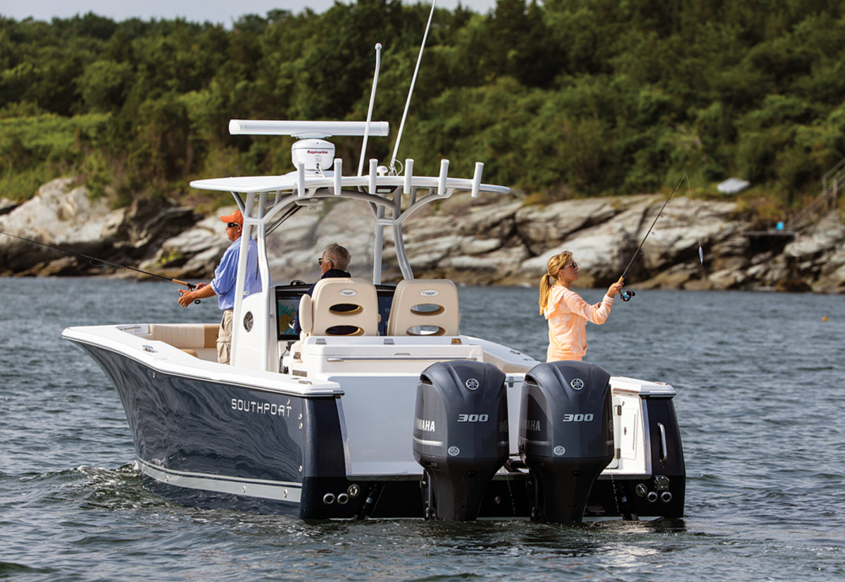 Southport has its sights set on the hybrid fishing/cruising market.