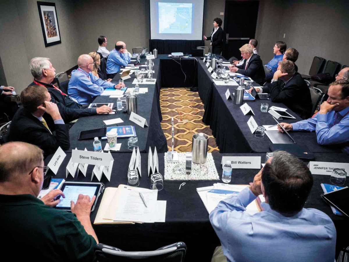 Marine industry representatives listened intently to a diverse array of speakers at last year's ABC. The focus at the sessions is on legislative and regulatory issues that affect the boating business.