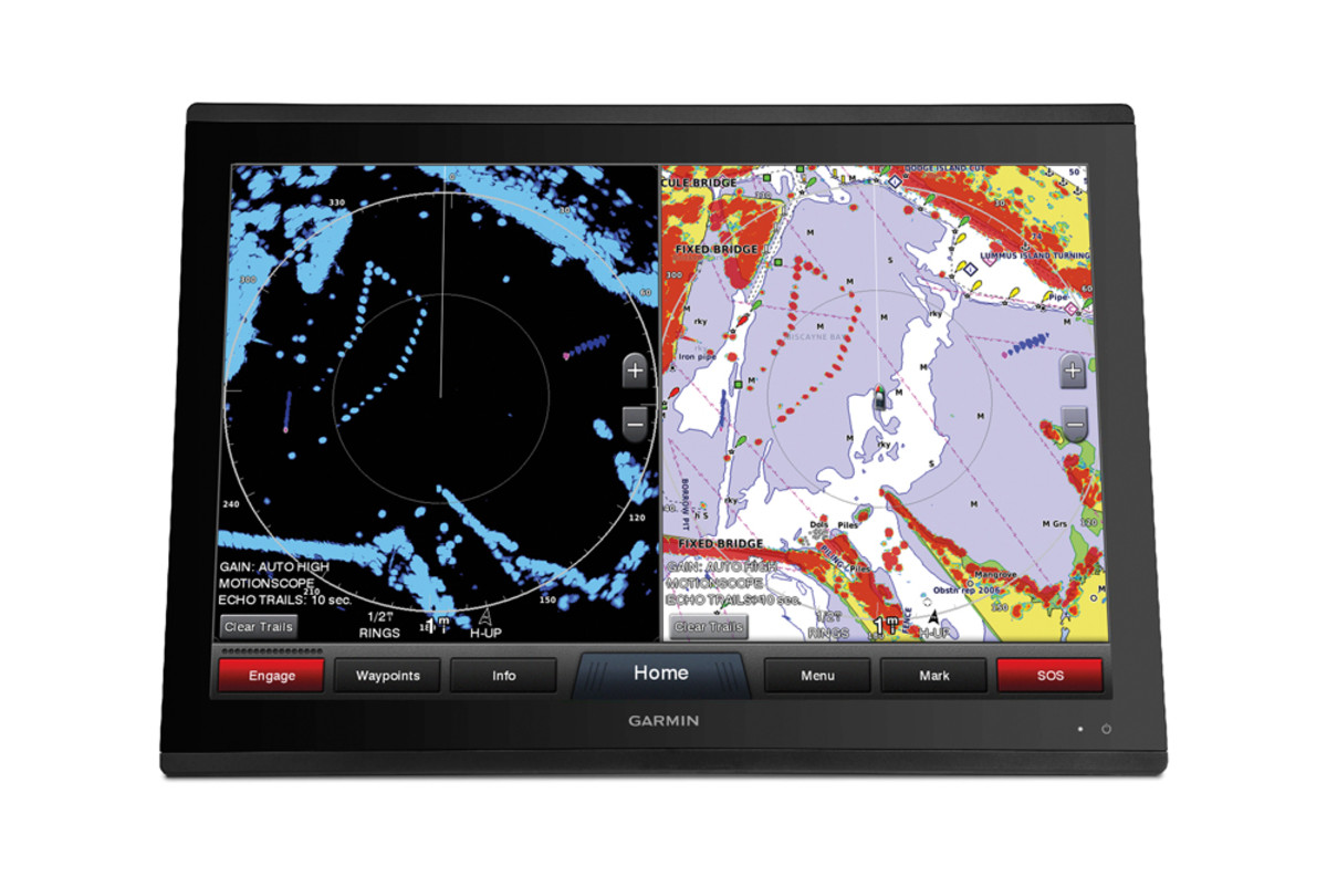 Fantom radar features Garmin's real-time MotionScope.