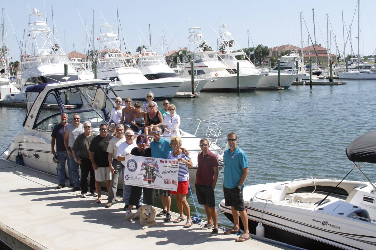In St. Augustine, Fla., boaters and bikers went boating and touring, compliments of Freedom Boat Club franchise owner Lisa Almeida.