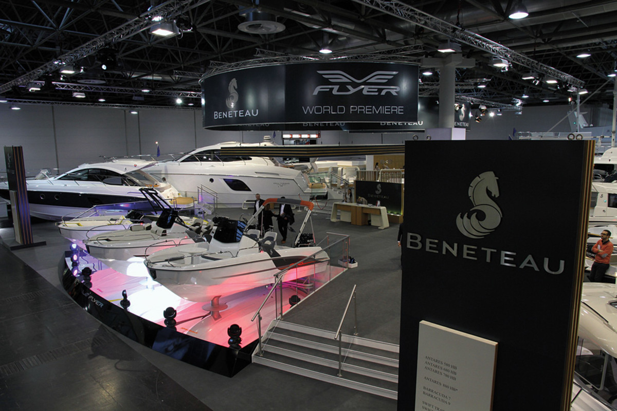 """Lambert says Rec Boat and Beneteau complement one another and there was """"literally no overlap"""" when they joined forces."""