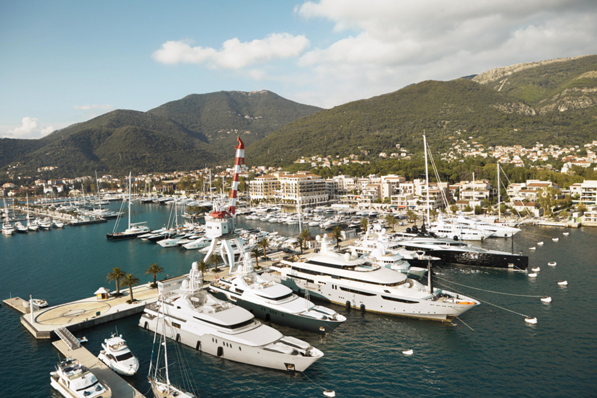 Porto Montenegro Marina and Resort has established itself as a yachting destination and was named Superyacht Marina of the Year in 2015.