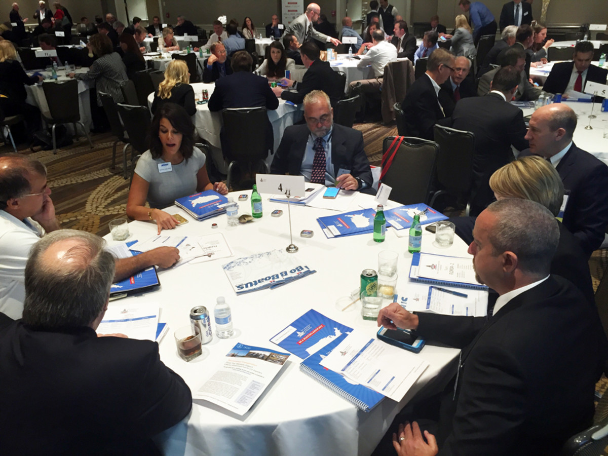 Industry members met in strategy sessions before heading to Capitol Hill to meet with lawmakers and their staffs.