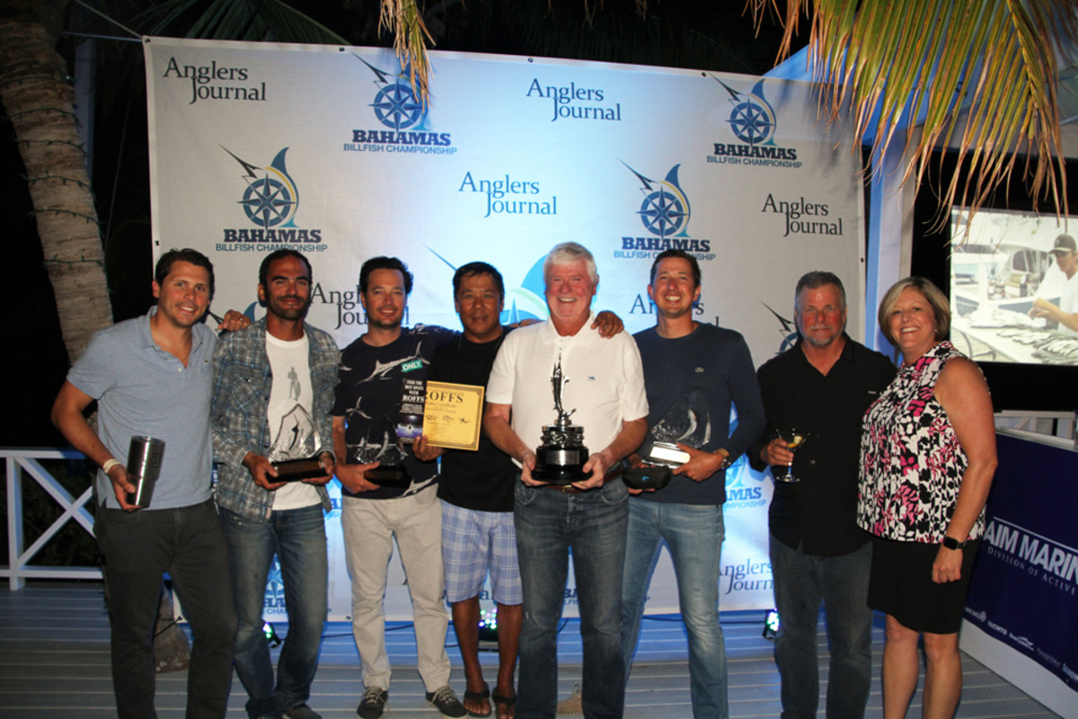 The crew of Bamboo took top honors in the Guana Cay leg of the 2016 Bahamas Billfish Championship.