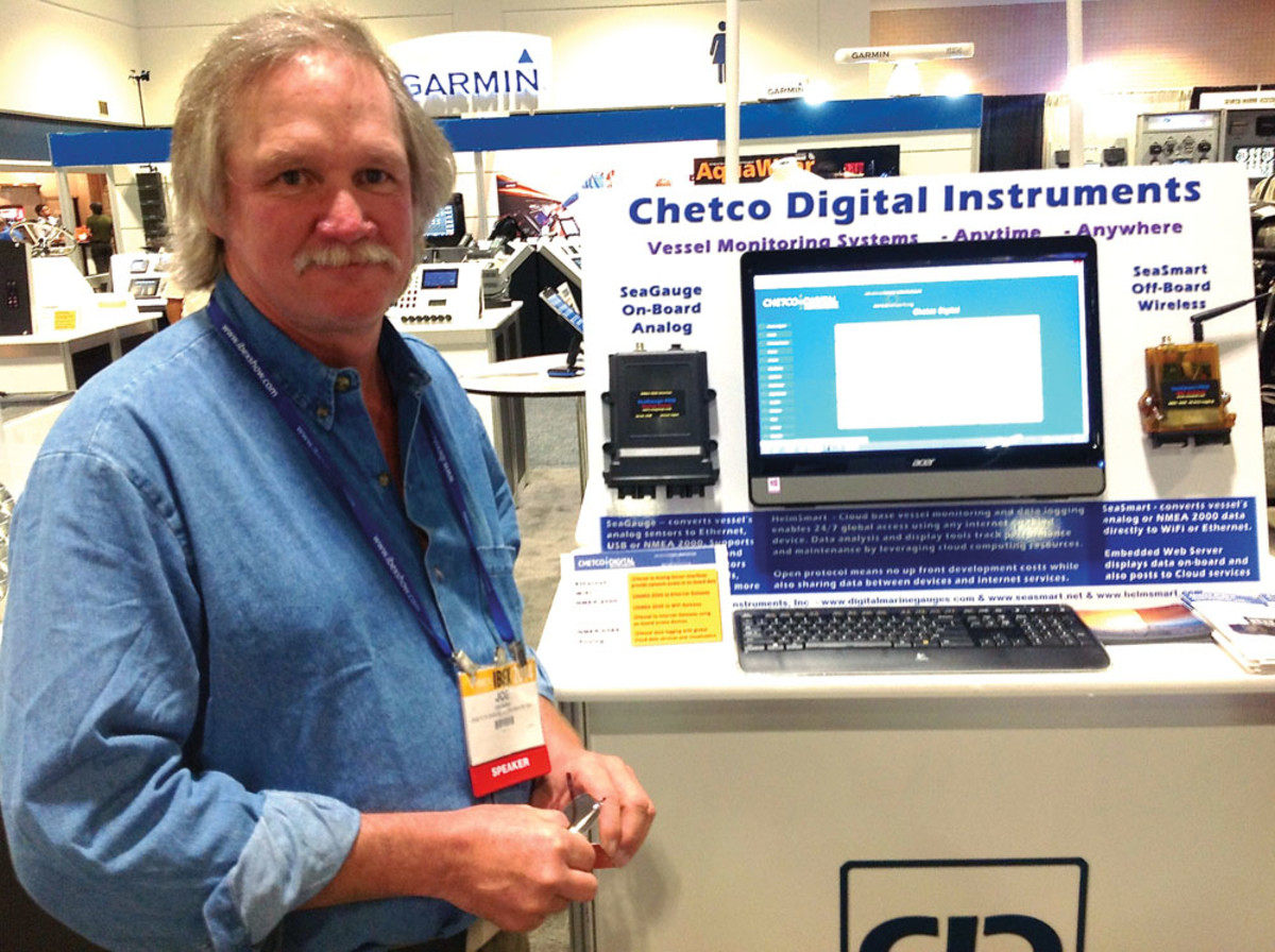 Joe Burke was the driving force behind the exhibit. Leading electronics firms combined to demonstrate the interconnectivity of their independent systems.