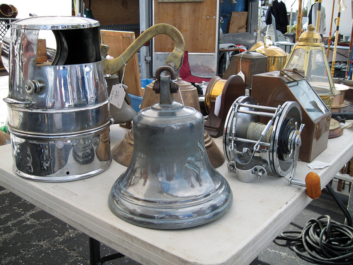 """Browsers never know what they'll find at the enormous """"garage"""" sale, which is held on a 5.5-acre lot."""