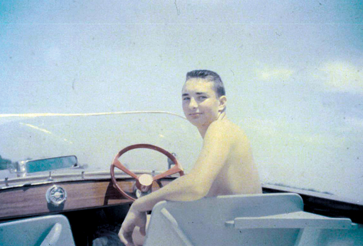 Frohnhoefer was drawn to the water at an early age, whether boating on Peconic Bay as a teenager or water skiing off a customized boat for his Water Thrills business venture.