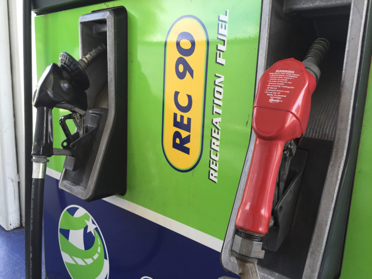 Virginia is seeking approval to sell E-0 gasoline at marinas in Northern Virginia, Richmond-Petersburg and Hampton Roads.