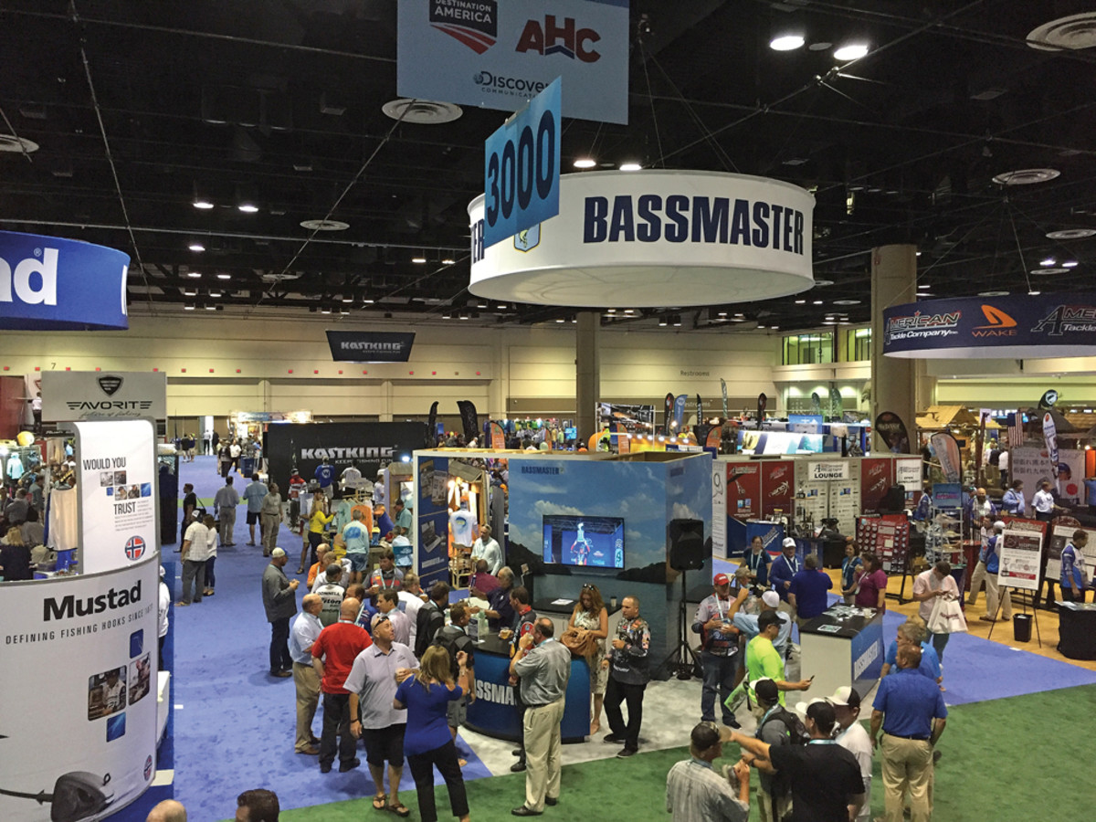 Record crowds jammed the exhibition hall at the 59th ICAST in Orlando.