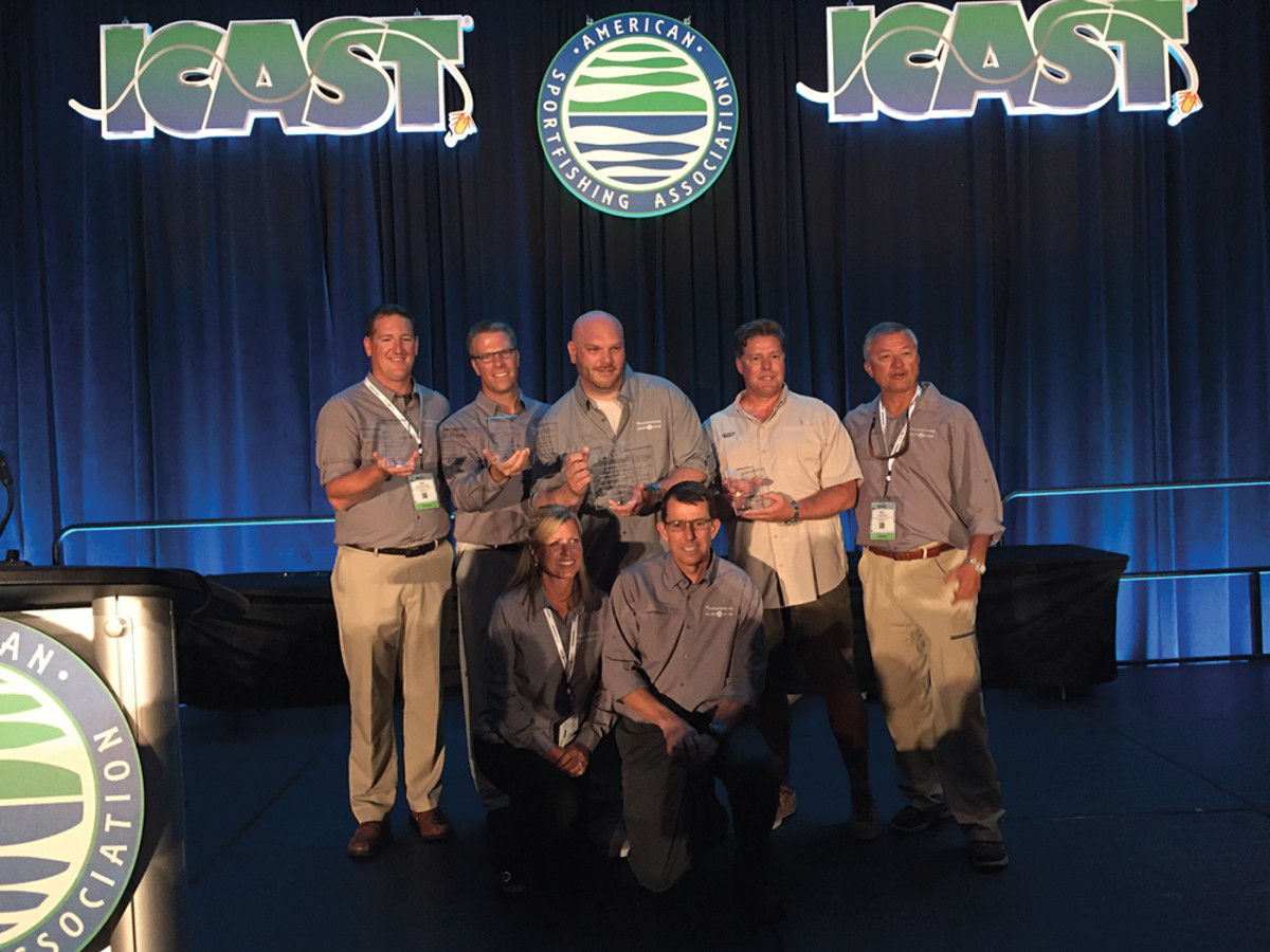 Johnson Outdoors cleaned up at the Best of Show awards, earning overall Best of Show for its Minn Kota Ultrex trolling motor and top honors in other categories.