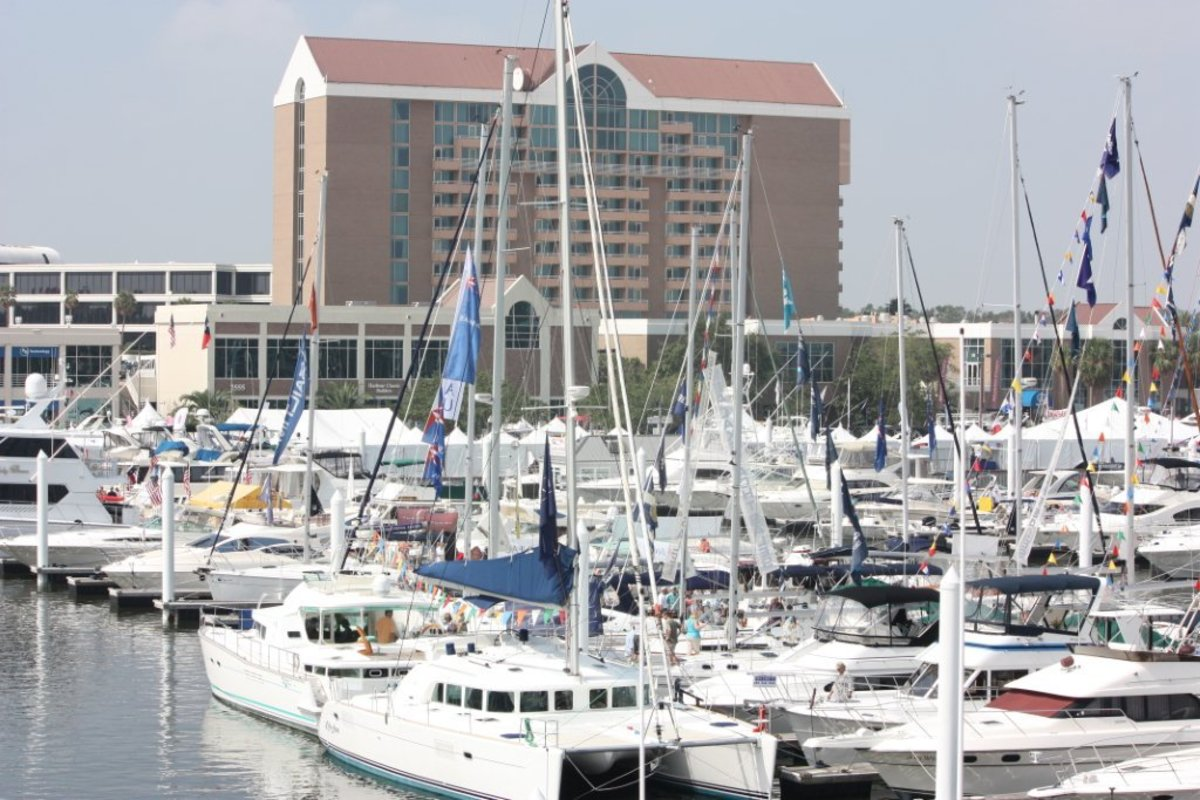 Organizers say the spring South West International Boat Show is the region's largest in-water show.