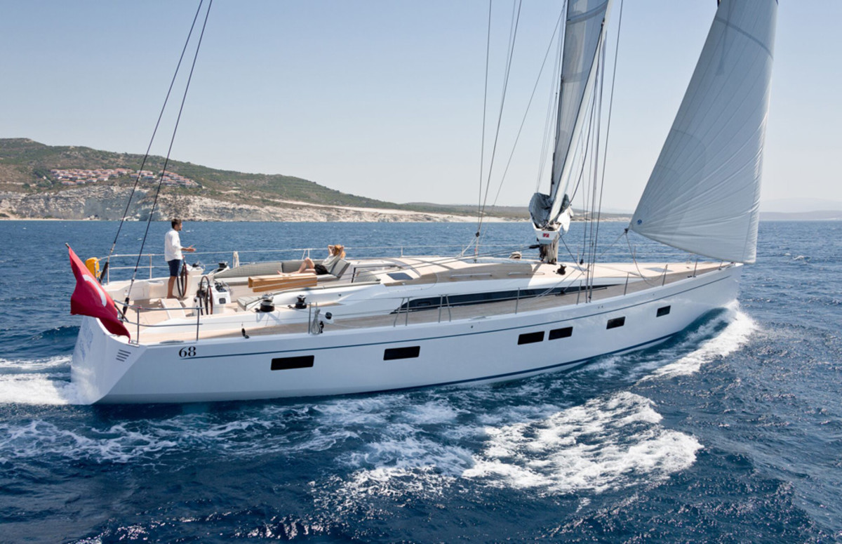 Sirena Marine will introduce the Euphoria 68 in September at the Cannes Yachting Festival.
