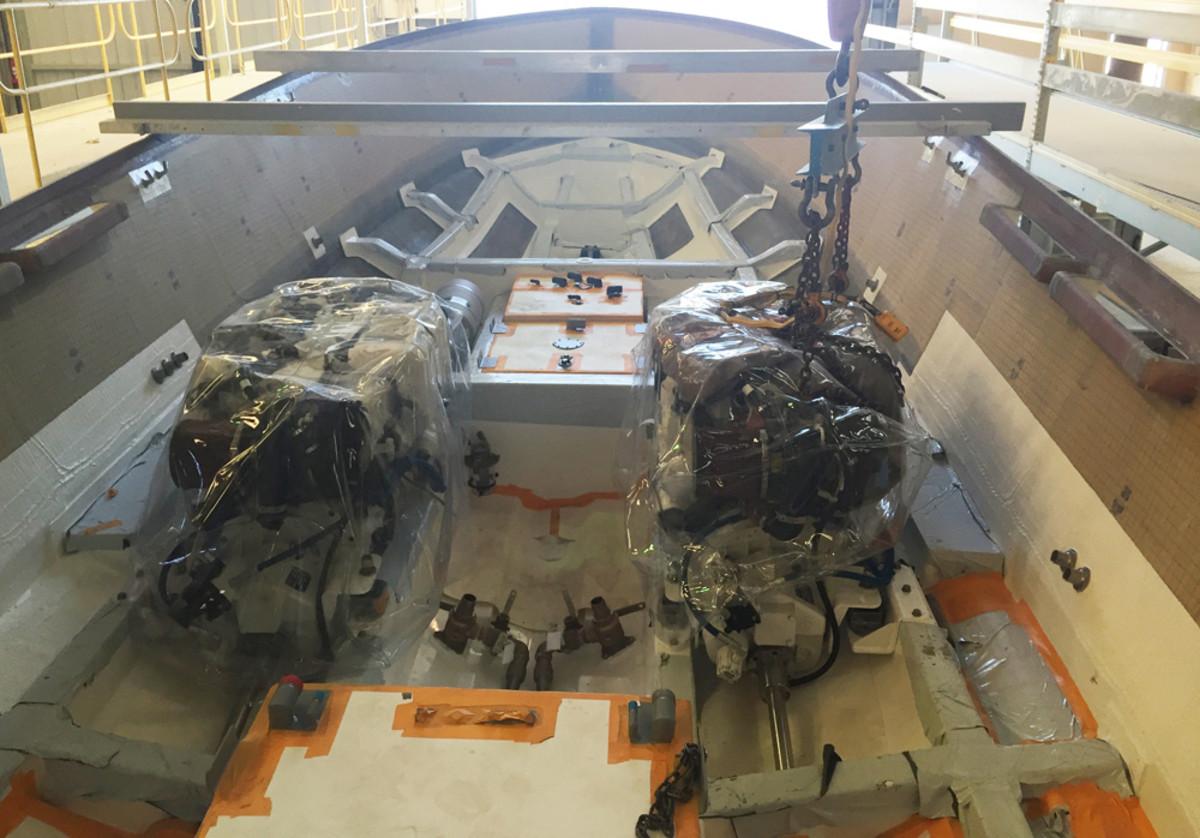 A pair of 500-hp 7.1-liter Caterpillar diesels will power hull No. 3.