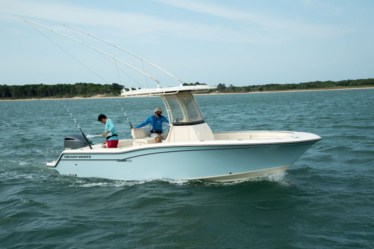MarineMax Miami will offer Grady-Whites such as this 23-foot center console.