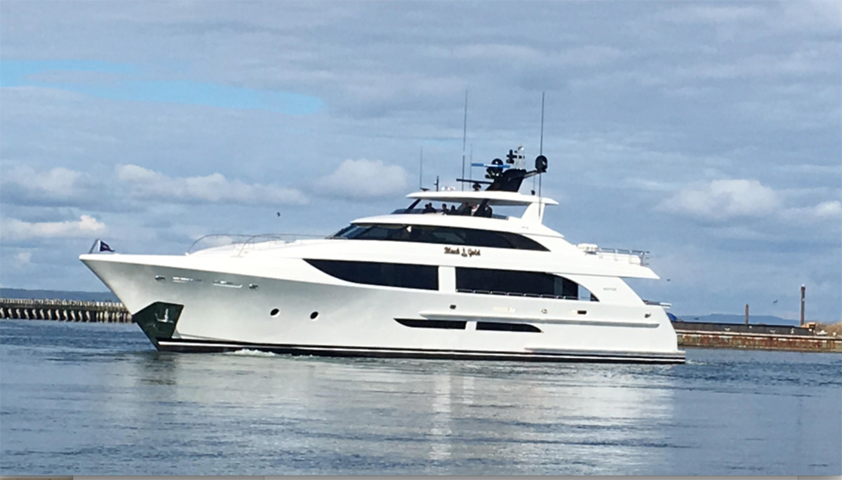 Westport Yachts' new motoryacht will debut at the Fort Lauderdale International Boat Show in November.