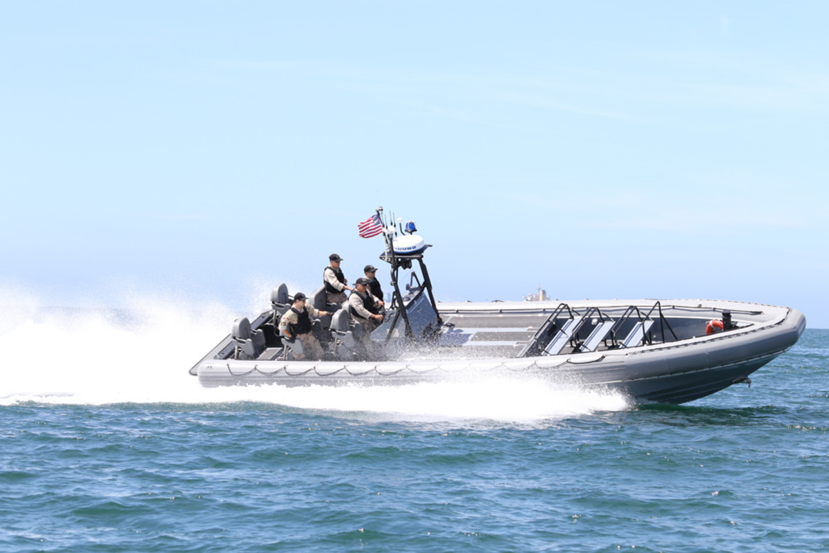 The licensing agreement allows the Navy to use Willard's Sea Force 1100, Navy model RIB design to create an all-new Navy 11-meter RIB.
