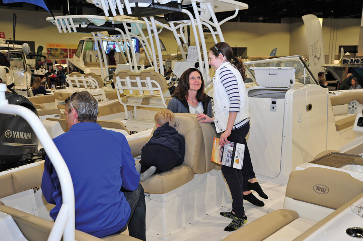 Boat shows are paying off, but there also is a trend toward smaller, customized events.