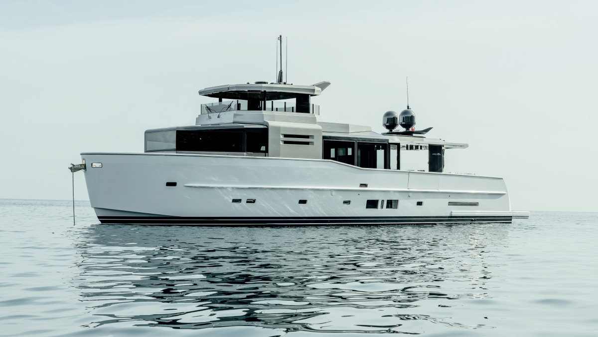 The 85S is one of two new Arcadia Yachts models that will make their world debut in Cannes.
