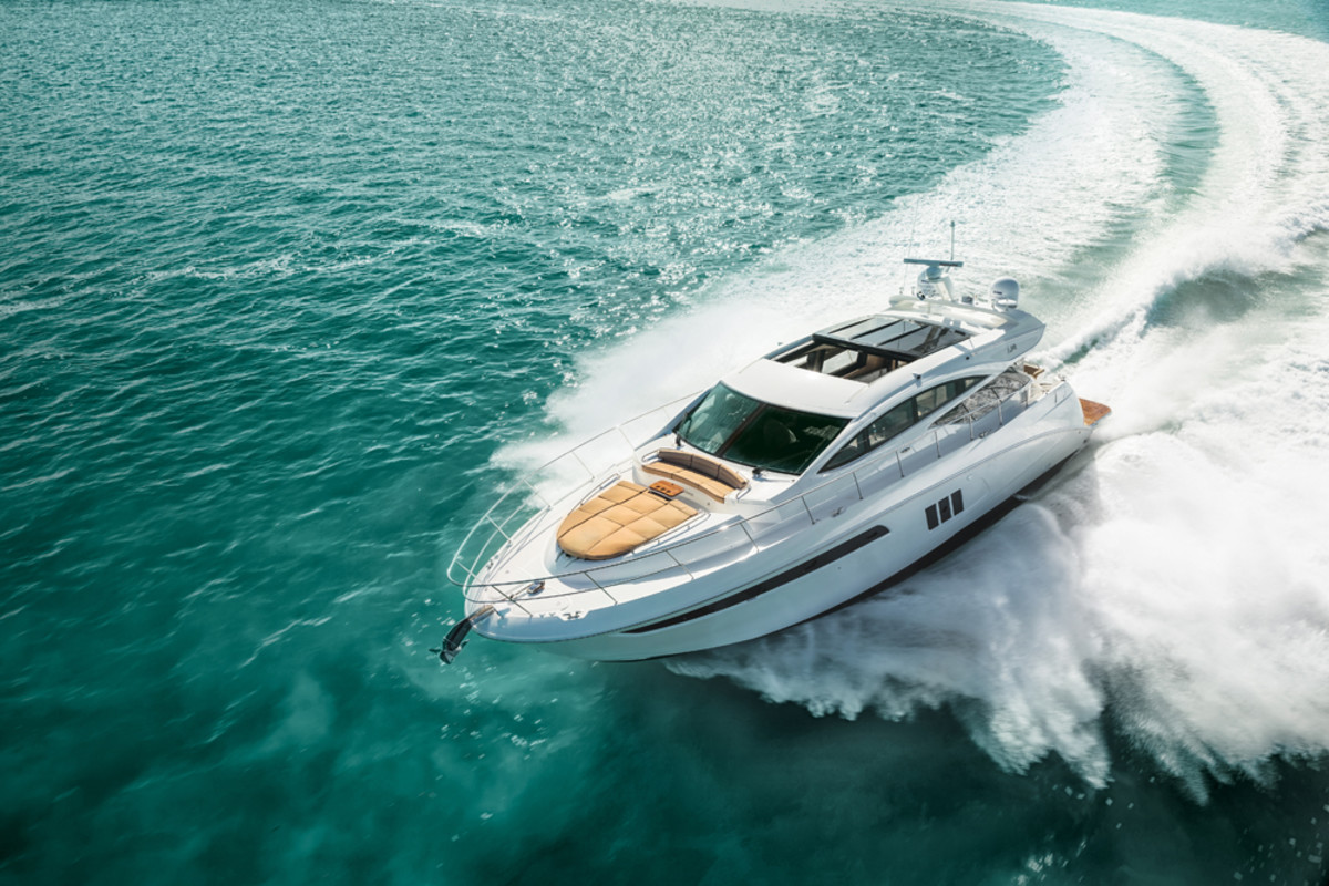 Europe will get its first look at Sea Ray's L590 at the Cannes Yachting Festival.