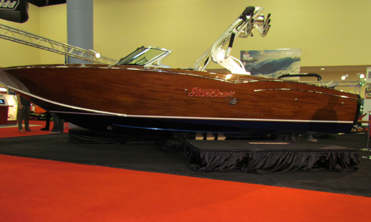 Mastercraft Teams With Wooden Boat Builder On Limited