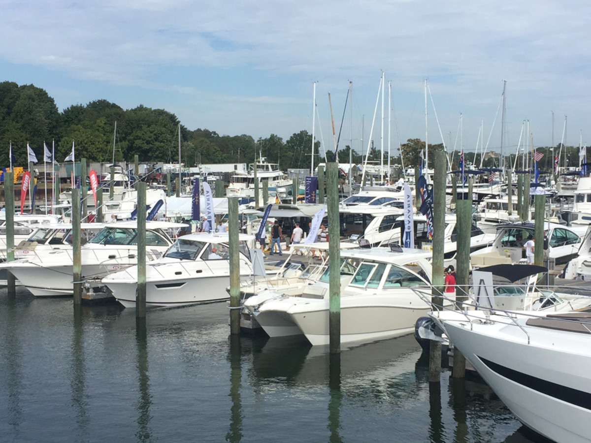 Though still not as large as it once was, many exhibitors said traffic was solid last weekend at the Progressive Norwalk Boat Show.