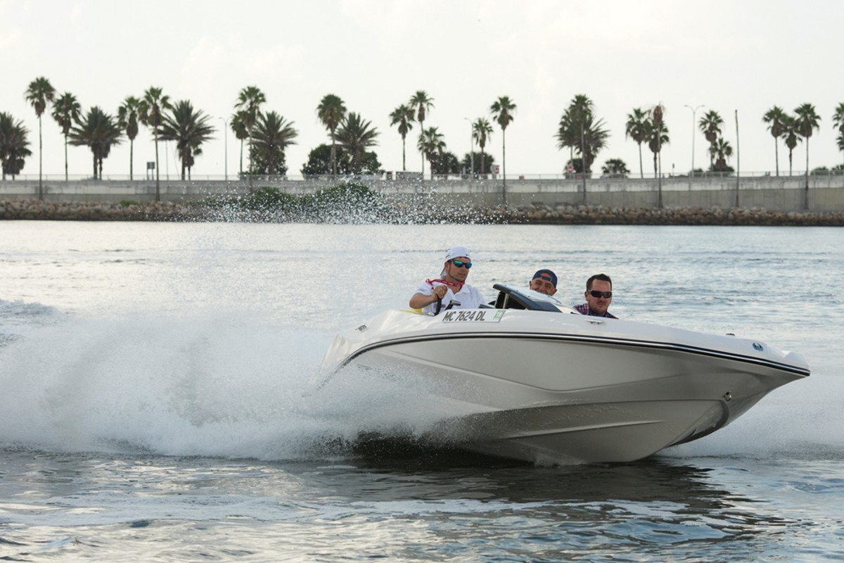 Beneteau's American brands include all types of boats, from waterjet-propelled craft to pocket cruisers.