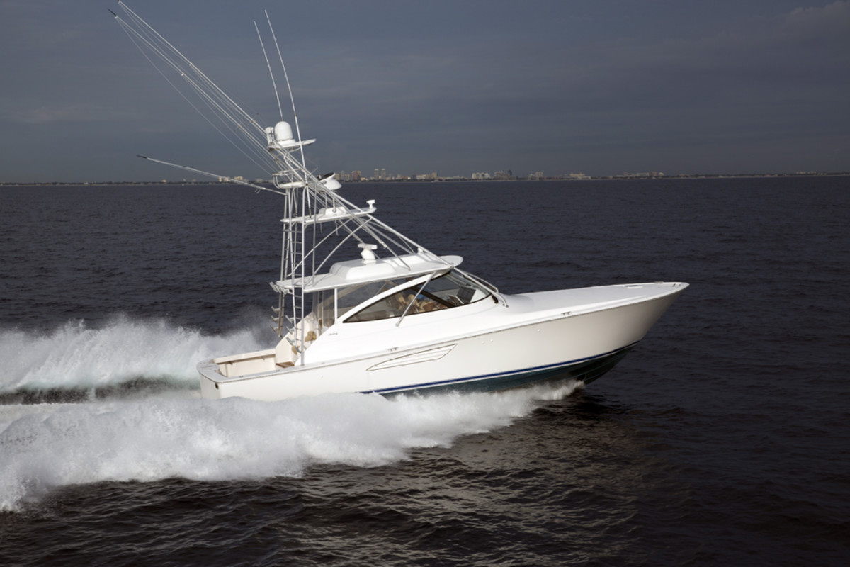 The Viking 48 Open is one of four new boats Viking Yachts will debut at the Fort Lauderdale International Boat Show.
