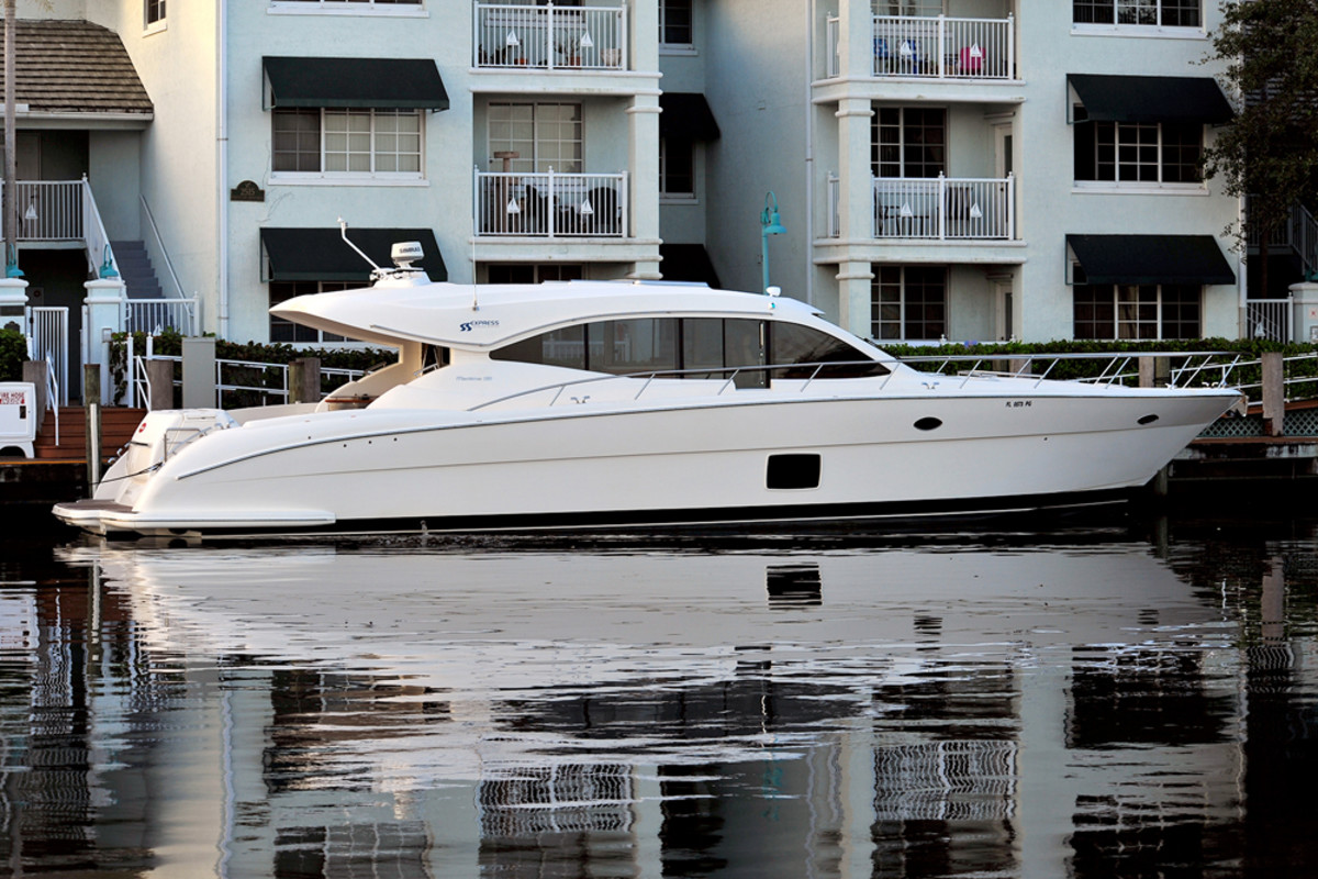 Twin Disc said demos will be available at FLIBS on its 62-foot Maritimo C60.